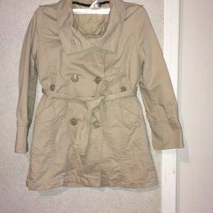 Gap sz. 8 khaki coat girls